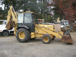 Ford 555d Back Hoe photo