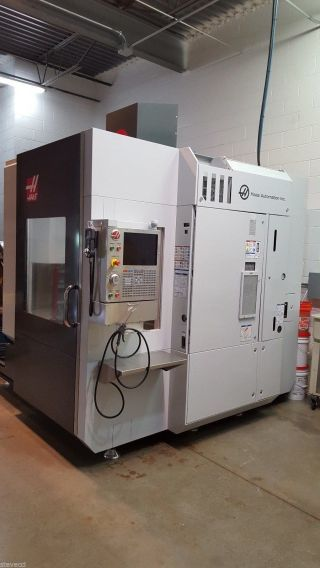 Haas Umc 750 5 - Axis Universal Machining Center Cnc Machine photo