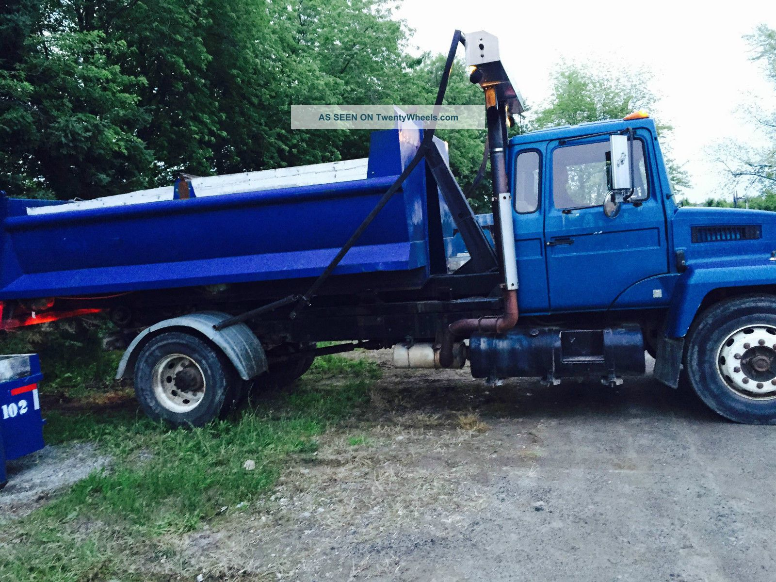 88 Mack Midliner 300 Hook Lift Truck,  Multi Lift,  2 Bins,  Roll Up Other Heavy Duty Trucks photo