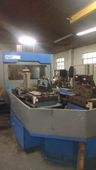 Toyoda Fh - 60 Cnc Horizontal Machining Center W 9 Station Pallet Pool Ct50 photo
