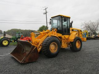 2005 Hyundai Hl740 - 7 Wheel Loader W/ Cab photo