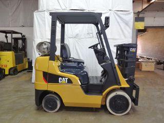 2012 Caterpillar 2c5000 5000lb Smooth Cushion Forklift Lpg Lift Truck Hi Lo photo