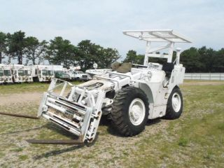 Pettibone Rough Terrain Front End Loader/fork Lift Detroit 453 Diesel Military photo