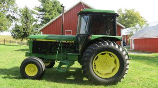 1987 John Deere 2955 Cab Farm Tractor 97hp 6 Cyl Diesel 2 Sets Of Outlets Hi/low photo