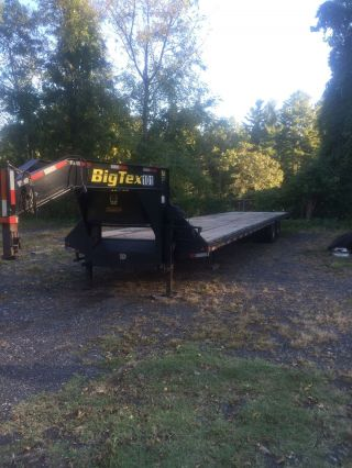 2012 Big Tex 22gn Trailer Goosneck 40 ' Fl Low Profile Air Ride Equipped photo