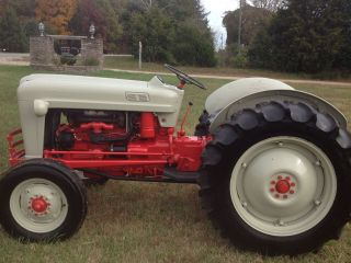 1953 Ford Golden Jubilee Tractor Naa photo