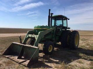 John Deere 4630 Loader Tractor photo