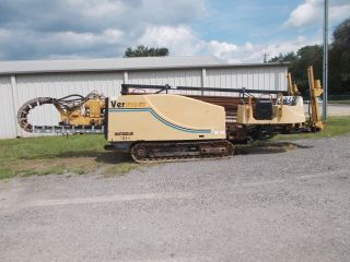2000 Vermeer D33x44 Navigator Crawler Directional Drill Rig Cummins Diesel photo
