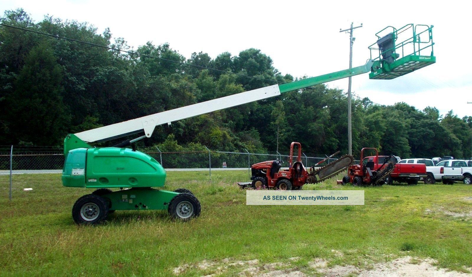 Single Man Lift 40 Ft : Jlg s man lift ft reach telescopic boom