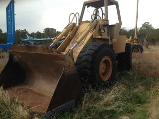 Case W 30 Wheel Loader With Rebuilt Trans 23.  5 25 Tires photo