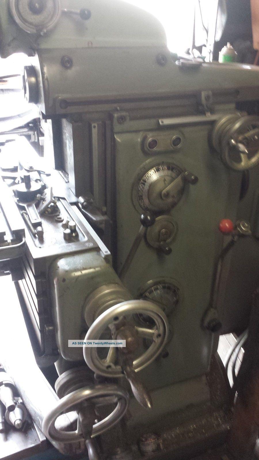 Deckel Fp2 With Fbv2 Vertical Head Milling Machines photo