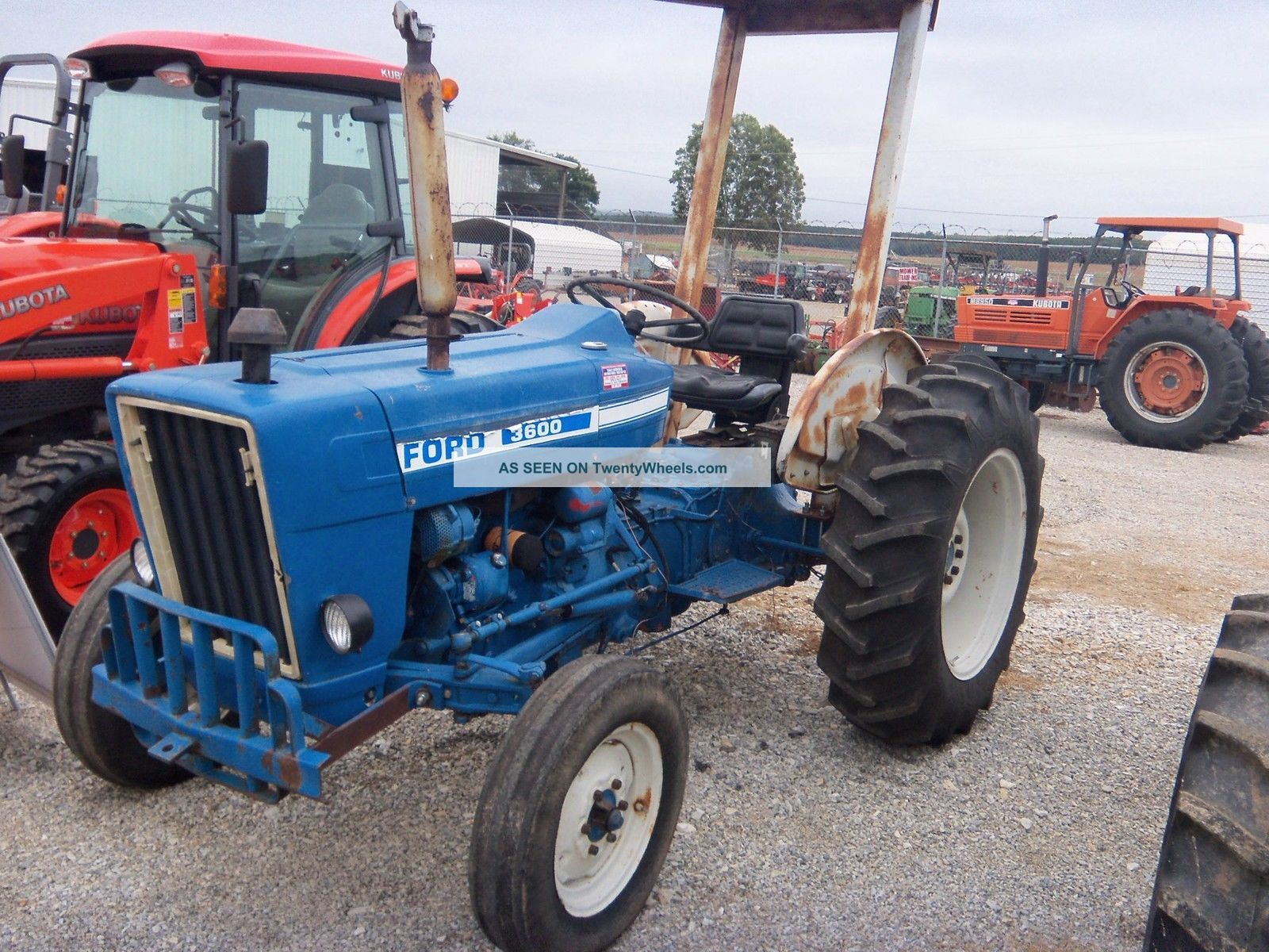 Ford 3600 Tractor : Ford tractor specs
