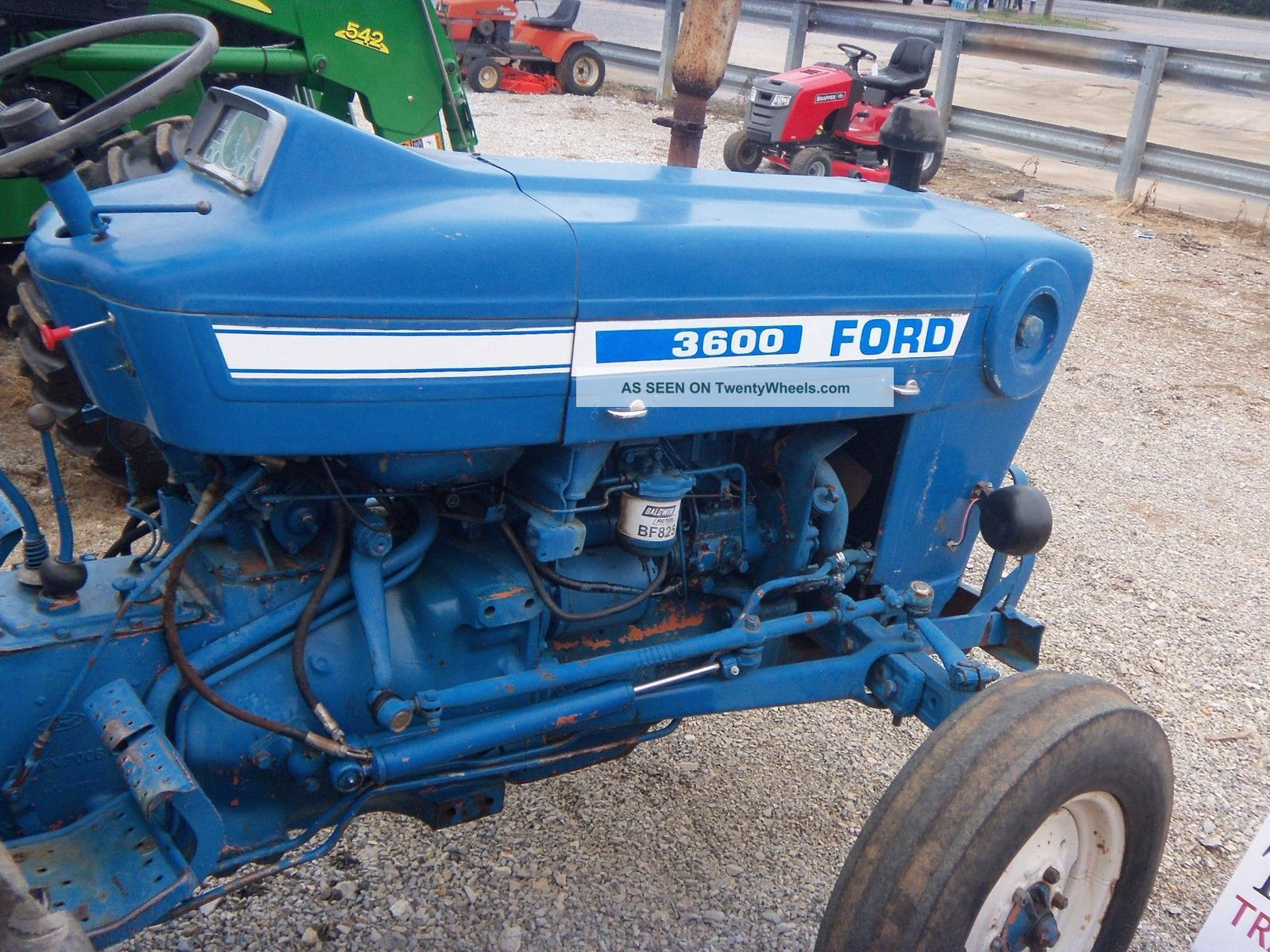 Ford 3600 Tractor Data : Ford tractor