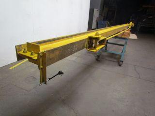 Konecranes Wall Bracket Jib Crane 1/2 Ton Cap 19 ' - 7 - 1/2