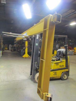 Contrx Cranes Wmcc120 Wall Mount Cantilever Jib Crane 1/2 Ton 20 ' photo