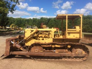 Caterpillar Cat D6b Crawler Bulldozer Dozer Loader photo