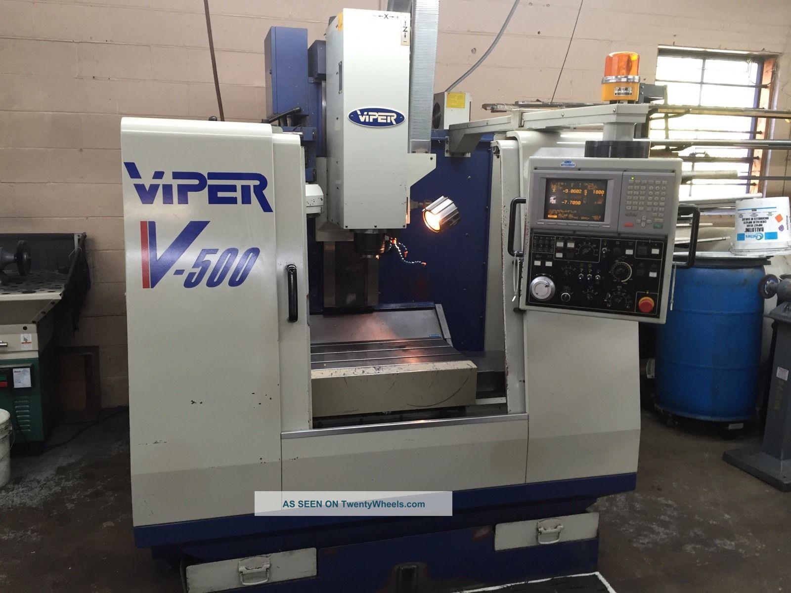 2000 Mighty Viper Vmc - 500p Milling Machines photo