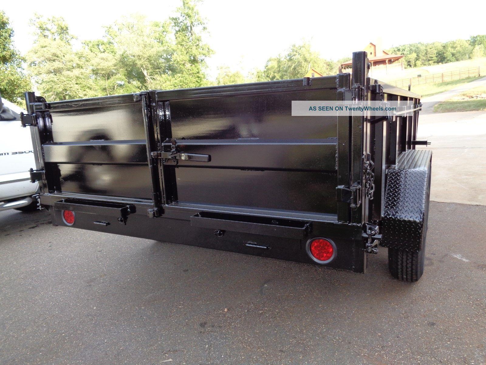 Tractor Lift Gate : Dump trailer k hydraulic scissor lift
