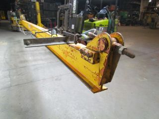 Ohio Crane & Hoist 1/2 Ton 20 ' Wall Bracket Jib Crane Beam 4 - 1/4