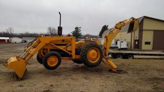 Ford 4500 Loader Backhoe Tractor photo