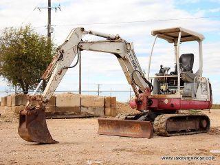 2007 Takeuchi Tb125 Mini Excavator - Excavator - Loader - Backhoe - Takeuchi - 22 Pic photo