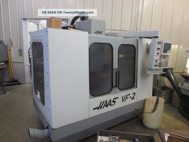 Haas Vf - 2 Cnc Machining Center Milling Machines photo