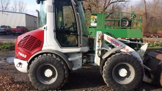 Takeuchi Tw65 Wheel Loader Only 860 Hrs photo