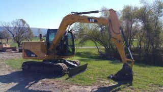 2011 Caterpillar 307d Midi Hydraulic Excavator Diesel Tracked Hoe Machine Plumb photo