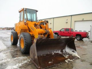 1990 John Deere 544e Wheel Loader,  Cab,  7754 Hours photo