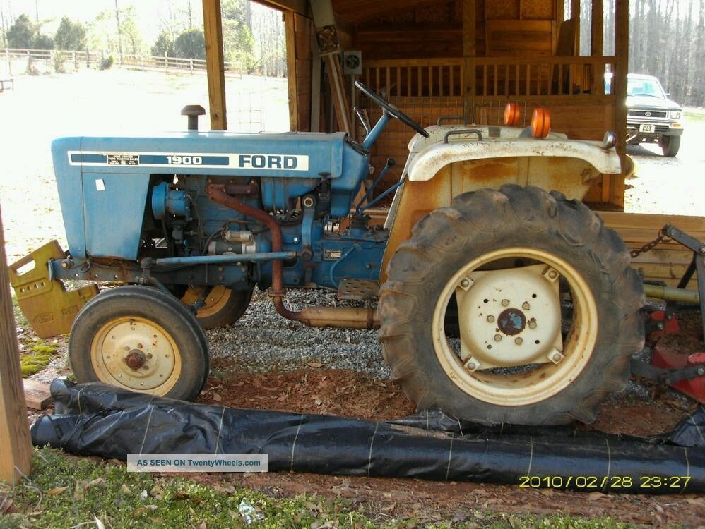 2 Wheel Tractor 1900 : Ford pictures to pin on pinterest daddy