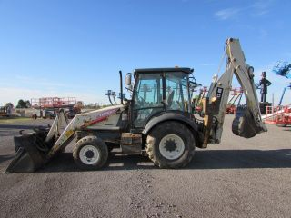 2002 Terex Tx760 Backhoe With Extend - A - Hoe photo