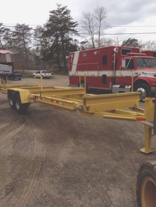 Pipe Trailer / Kiefer Igt 200 Telescoping Pipe Trailer / Pipe Trailer Utility photo