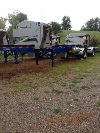 Container Handler / Steel Bros Container / Ss240f Trailer photo