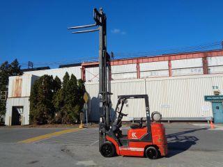 Kalmar C50bxps 5,  000 Lbs Forklift Truck - Triple Mast - Side Shift - photo