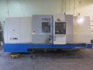 Daewoo Puma 18 Cnc Turning Center With Hydraulic Programmable Steady Rest photo