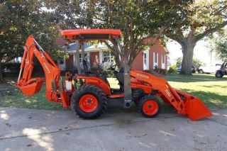 2012 Kubota B26 Hst 4wd Backhoe Loader Tractor,  Thumb,  Only 851 Hours photo