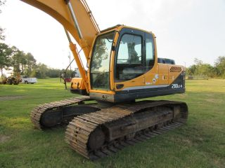 2011 Hyundai 210lc - 9 Hyd Excavator With Aux Hyd photo