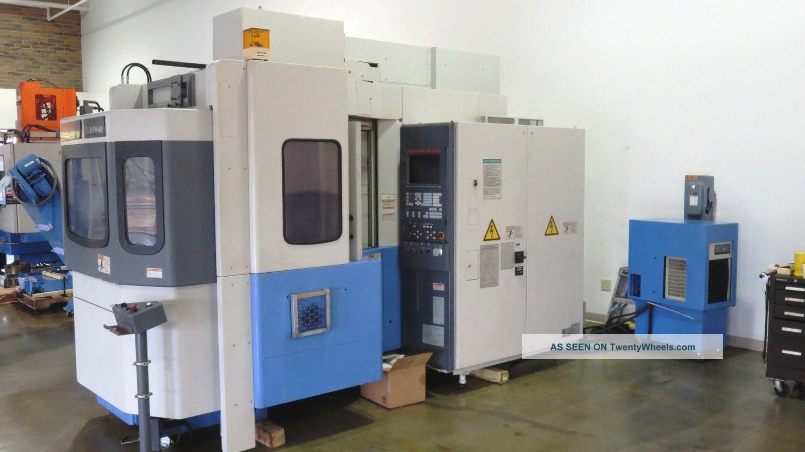 Mazak Fh 480 Hmc,  Horizontal Machining Center,  Mazak,  Cnc Hmc,  Cnc Milling Machines photo