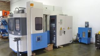 Mazak Fh 480 Hmc,  Horizontal Machining Center,  Mazak,  Cnc Hmc,  Cnc photo