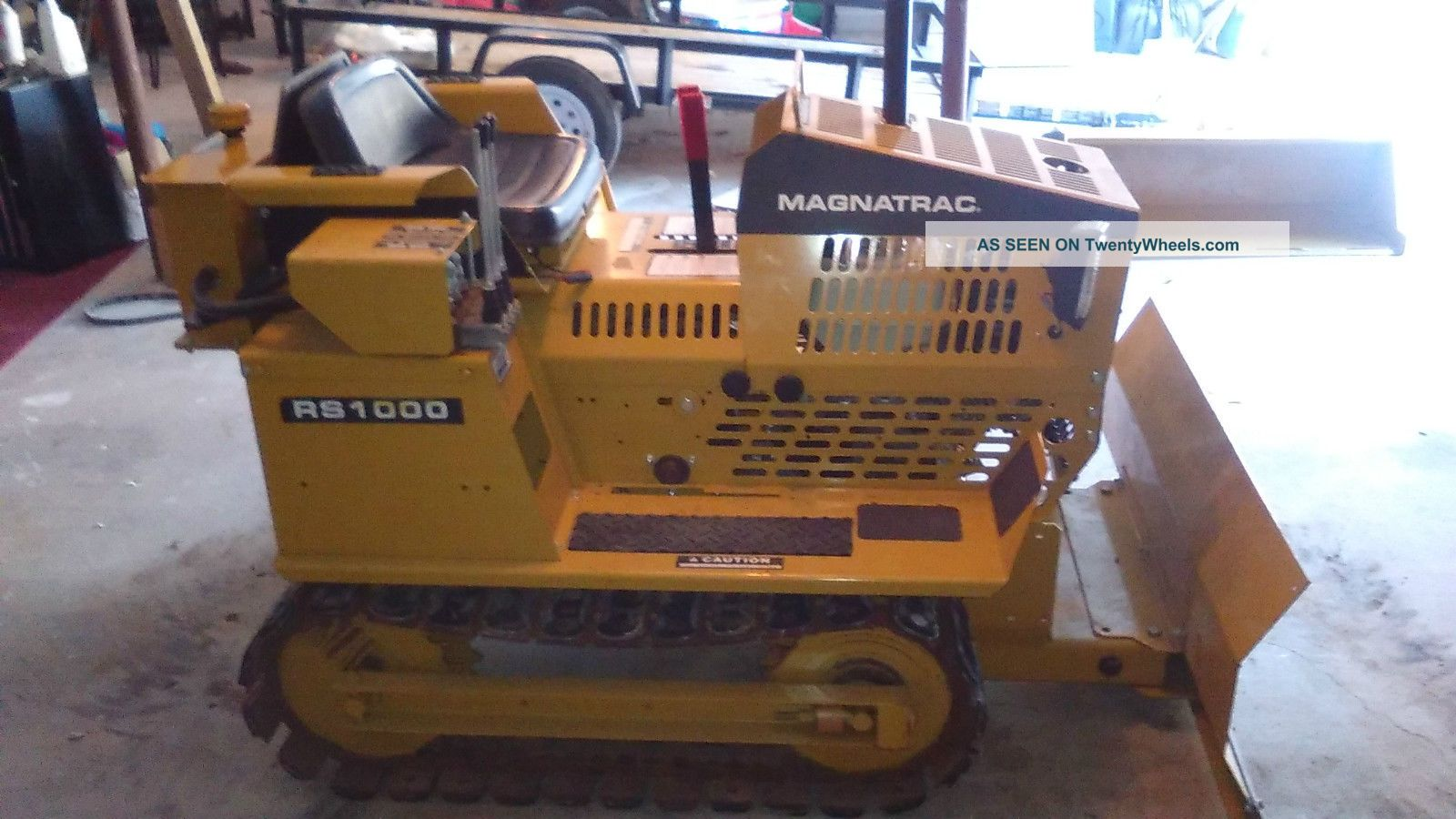 Dozer Struck Magnatrac Rs1000
