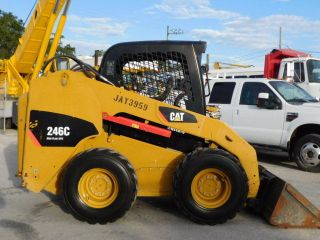 2010 Cat 246c Skid Steer