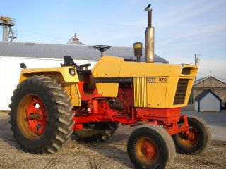 Case 870 Diesel Tractor Power Shift Runs Stong Open Station Case Ih photo