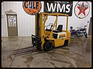 2000 Komatsu Fg25 Gas Engine Forklift Concrete Inside Outside Tow Motor Wms photo