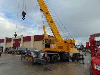 Grove Tms 760e - 60 Ton Hydraulic Truck Crane - 123 Ft Plus 61ft 2 Stage Jib photo