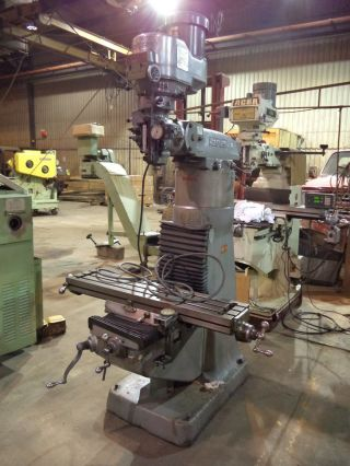 Bridgeport Series I,  2 Hp,  Vertical Knee Type Milling Machine,  Trav - A Dials photo