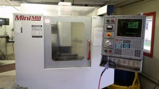 Haas Mini Mill Cnc Vertical Machining Center Ct40 Milling Rigid Tap 00 photo