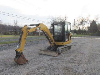 Caterpillar 302.  5c Mini Excavator W/ Cab photo