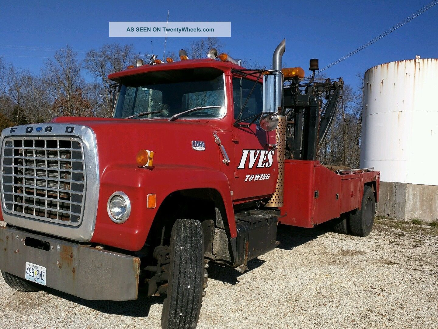 1972 Ford 9000 Tractor : Ford l