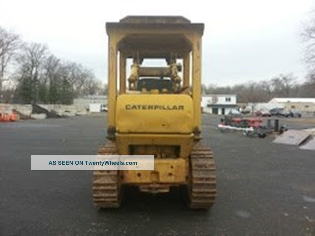 Caterpillar Track Loader 951c  Automatic Transmission  Runs  U0026 Operates Well
