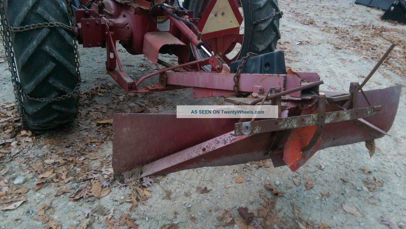 1947 Farmall H Tractor With Front End Loader Amp Rear Blade